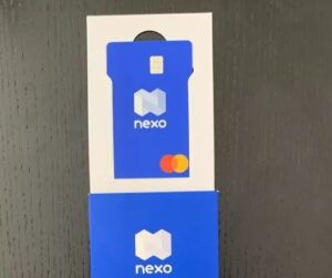 Nexo Card Unboxing