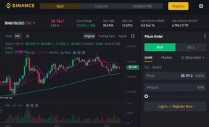 Binance Dashboard