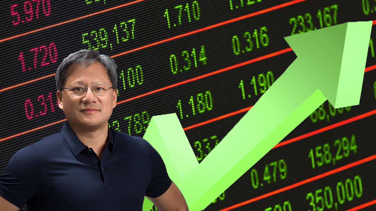 nvidia shares up feature